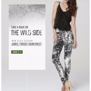 James Jeans Twiggy skinny in Rainforest